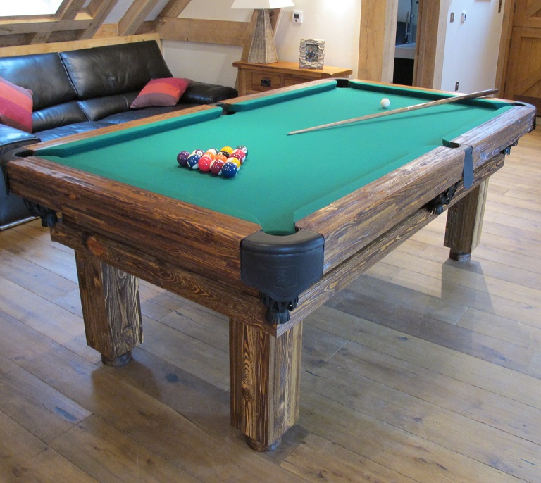 Iowa State Pool Table Light: Rustic Pool & Snooker Tables