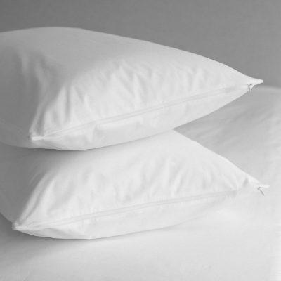 Teflon coated pillow protector