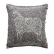 Sheep Cushion Cover Grey