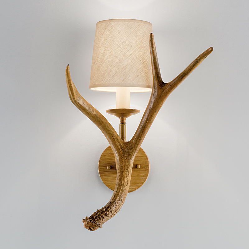 Highlands Antler Wall Light