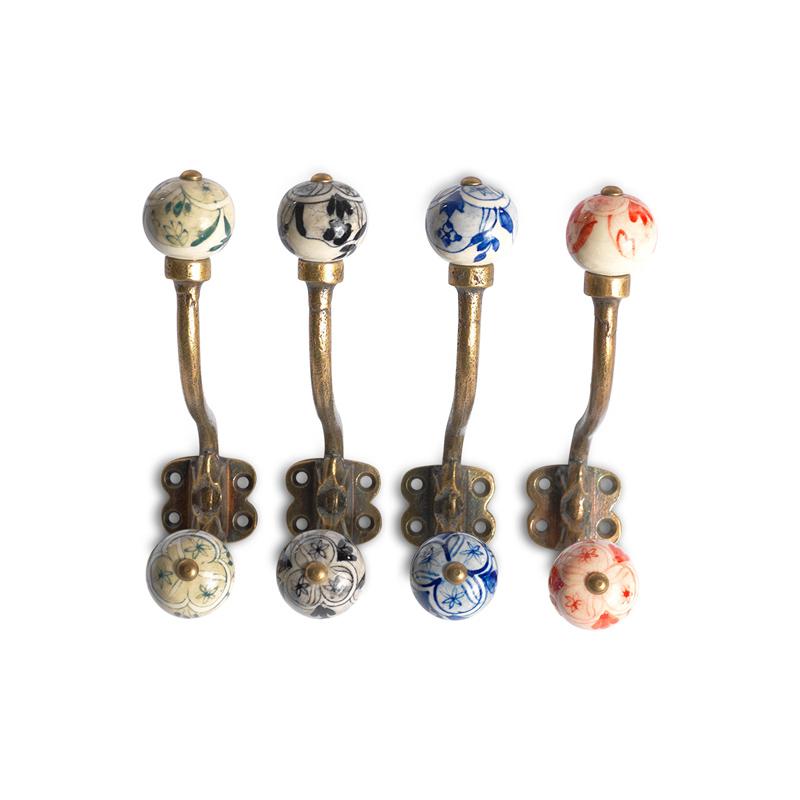 Argentiere Ceramic Hook Set Of 4 Furnish Every Season