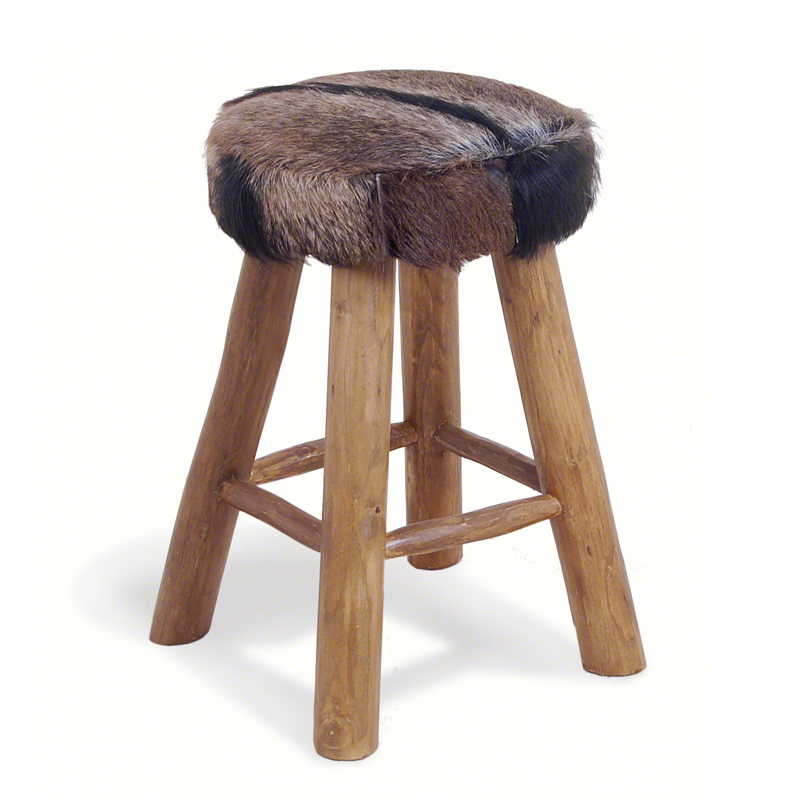 Medium-cowhide-stool