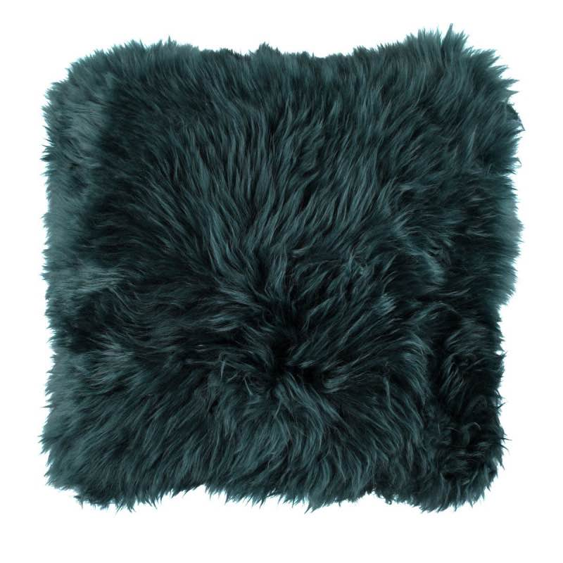 Cushion, Long-Wool NZ Sheepskin, size- 50×50 cm_Caspian
