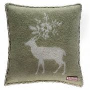 green-stag-cushion