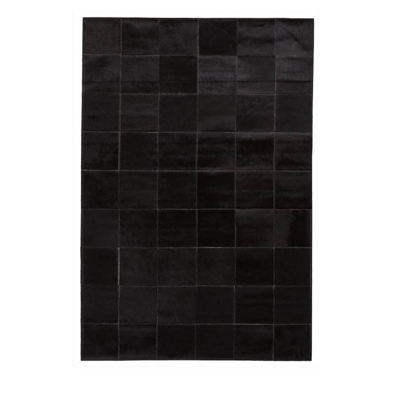 Rug of Premium Quality Brazilian Cow-Hide_Black