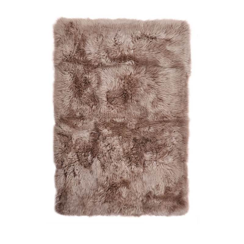 Rug of Premium Quality Sheepskin, Long-Wool,Dove