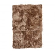 Rug of Premium Quality Sheepskin, Long-Wool,Taupe