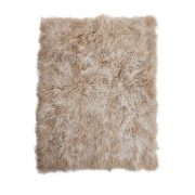 Tibetan sheepskin throw_Artic