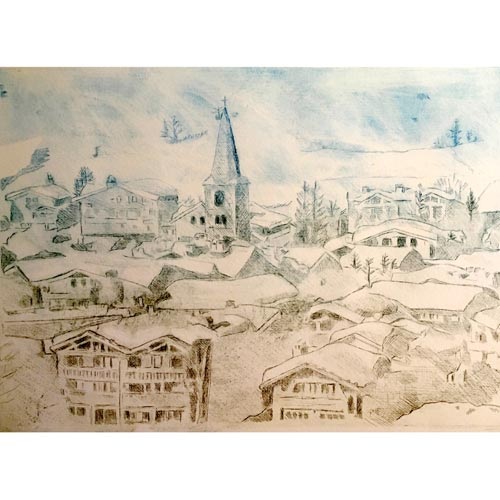 Val-d'Isere-etching-blue-an