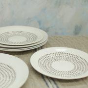 Grey Drop Side Plate