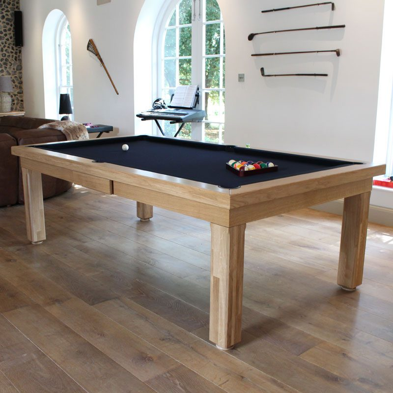 Oak0ModernPoolDiningTable