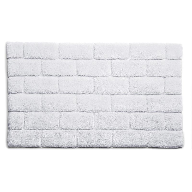Brick-rug-White
