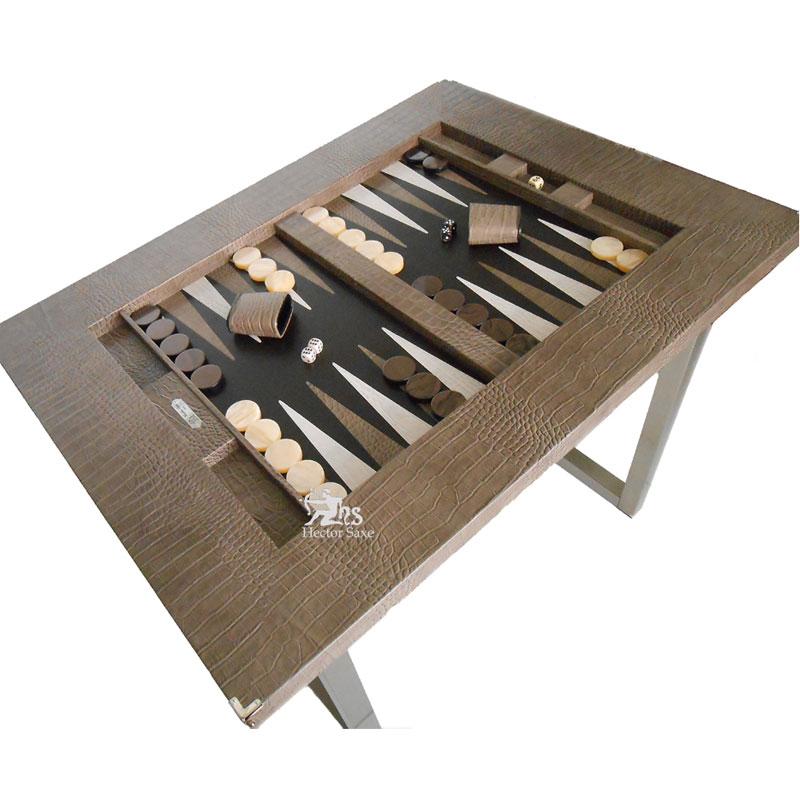 Home Board Backgammon Table