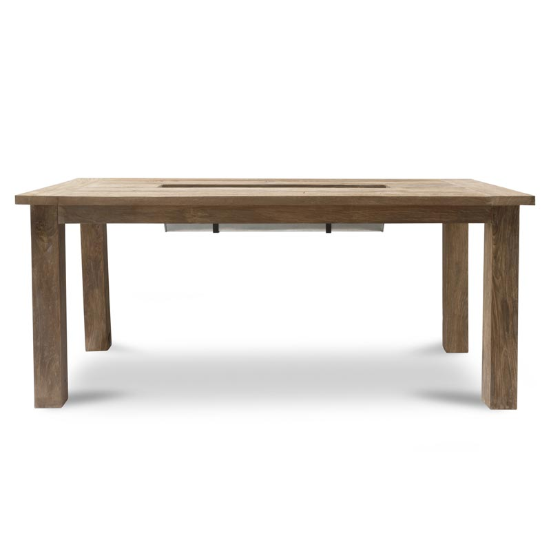 Planter dining table 6 seater furnish every season for 6 seater dining table