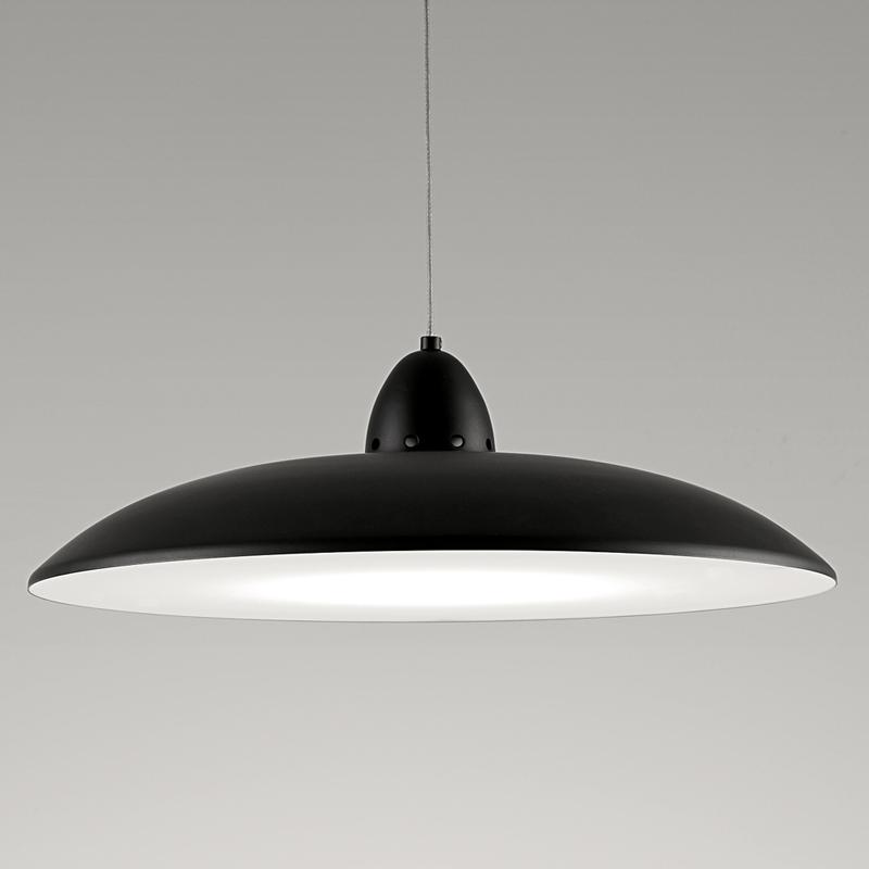 Saucer-Satin-Black