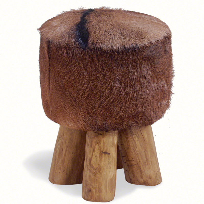 Small-cowhide-stool