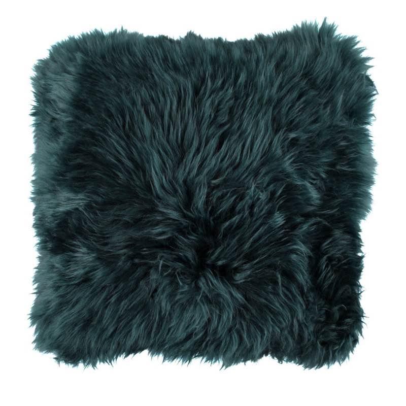 Cushion, Long-Wool NZ Sheepskin, size- 50×50 cm_Caspian