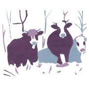 Winter-Cows--silkscreen - Copy