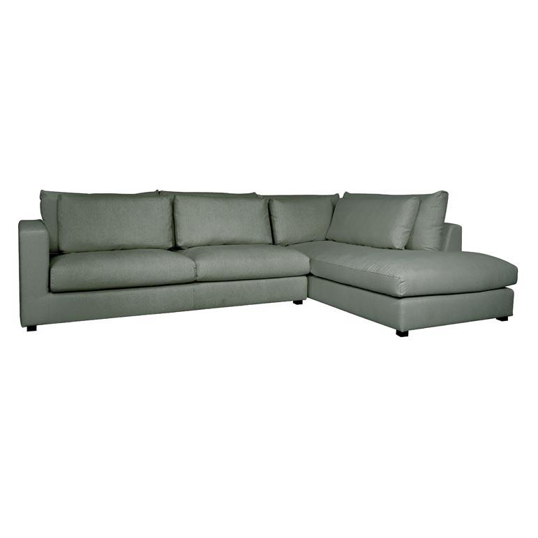 Corner Sofa Bed Green: Green Scandi Corner Sofa