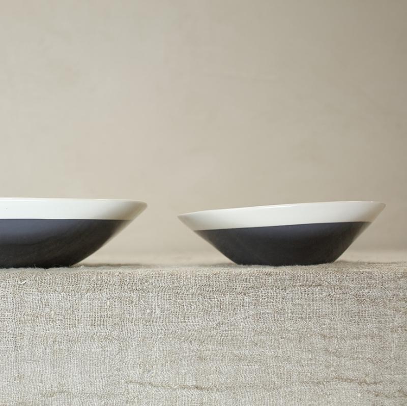 Chamois Grey Serving Bowl_2