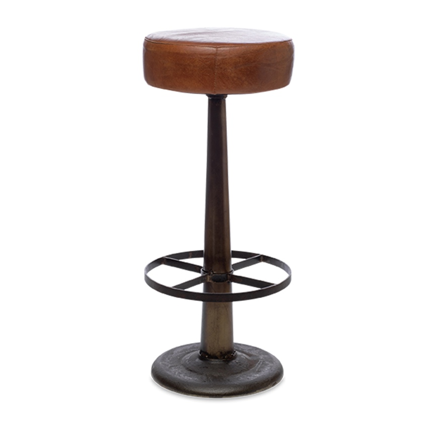 Leather Bar Stool3