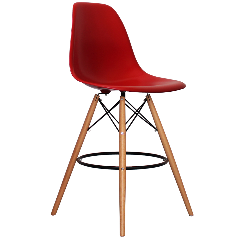 Eames Style Bar Stool Furnish Every Season