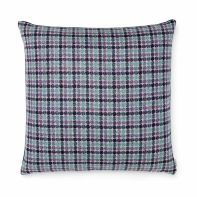 HeatherCheckCushion