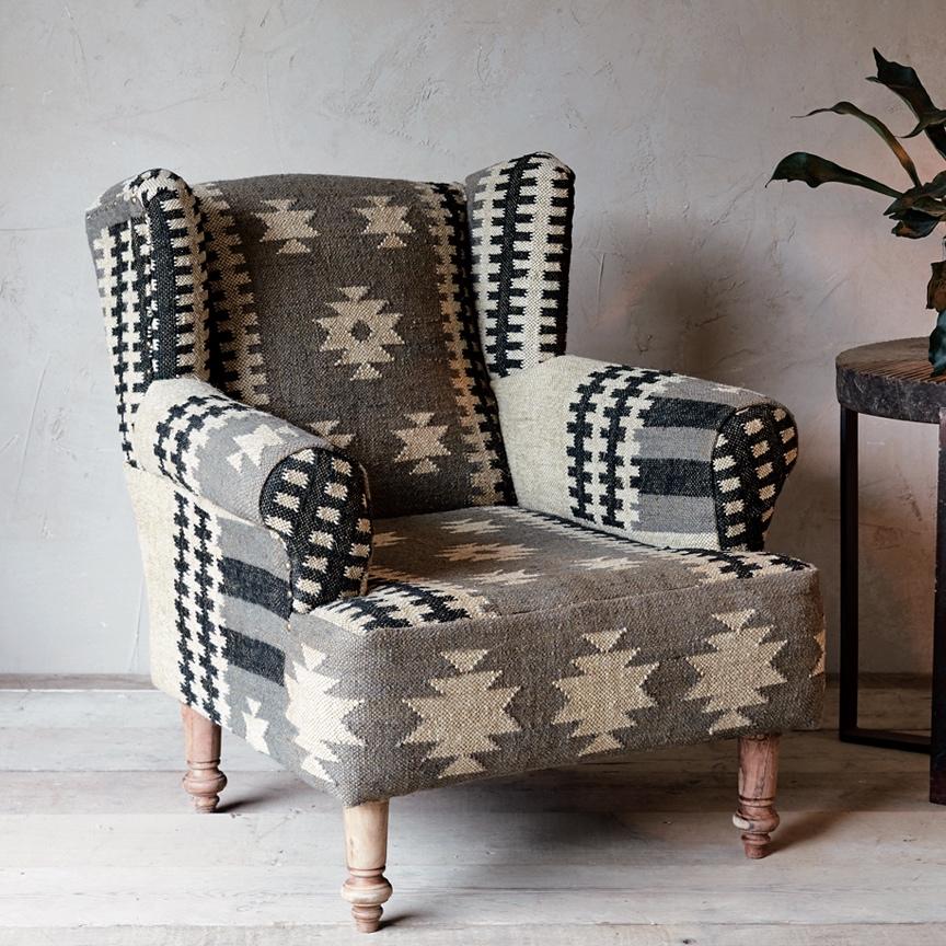 Tule Aztec Armchair Furnish Every Season