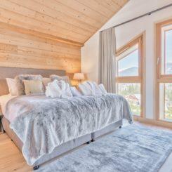Bedroom and landscape