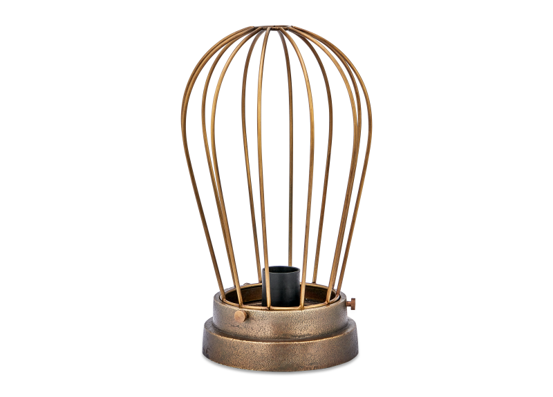 Paru Industrial Caged Lamp – Brass_Fotor